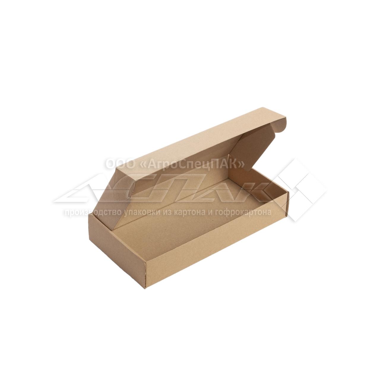Картонные коробки 303*153*53 бурые - фото 3