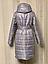 Женская куртка удлинённая под пояс, фото 10