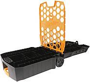 Кейс валізу на 100 машинок Хот Вілс Hot Wheels 100-Car Rolling Storage Case, фото 2
