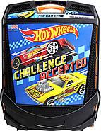 Кейс валізу на 100 машинок Хот Вілс Hot Wheels 100-Car Rolling Storage Case, фото 5