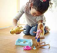 Кукла Barbie с собакой и новорожденными щенками Newborn Pups Doll and Pets, фото 8