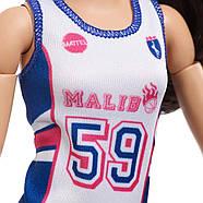 Кукла Барби БаскетболисткаBarbie Made to Move Basketball Player Doll оригинал от Mattel, фото 7