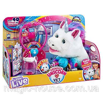 ИнтерактивныйЕдинорог и набор ветеринараLittle Live Rainglow Unicorn Vet Set