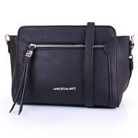 Саквояж (ридикюль) Amelie Galanti Женская мини-сумка из качественного кожезаменителя AMELIE GALANTI (АМЕЛИ ГАЛАНТИ) A991458-black