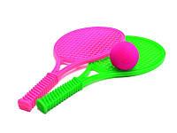 Детский набор для игры в теннис Максимус (2 ракетки + поролоновый мяч) 5040