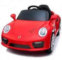 """Детский электромобиль Tilly """"Porsche"""" музыкальный T-7642 EVA RED с пультом управления"""