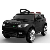 """Детский электромобиль Tilly """"Джип Range Rover"""" музыкальный FL1638 EVA BLACK с пультом управления"""