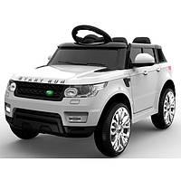 """Детский электромобиль Tilly """"Джип Range Rover"""" музыкальный FL1638 EVA WHITE с пультом управления"""