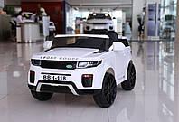 """Детский электромобиль Tilly """"Джип Range Rover"""" музыкальный T-7832 EVA WHITE с пультом управления"""