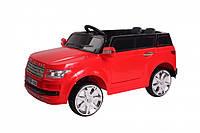 """Детский электромобиль Tilly """"Джип Range Rover"""" музыкальный T-7835 EVA RED с пультом управления"""