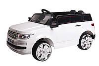 """Детский электромобиль Tilly """"Джип Range Rover"""" музыкальный T-7835 EVA WHITE с пультом управления"""