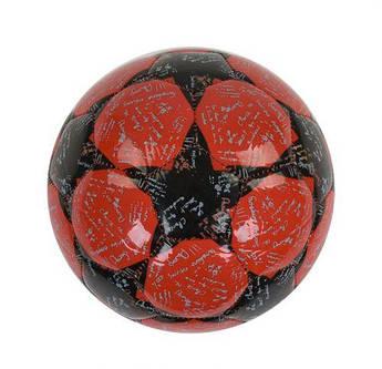 Футбольный мяч, размер № 2 (красный) C40080