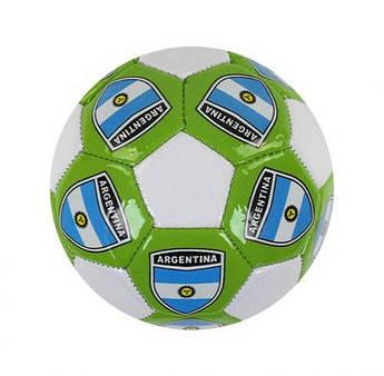 """Футбольный мяч  """"ARGENTINA"""" размер № 2 (зеленый) C40084"""