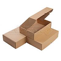 Картонные коробки 375*250*100 бурые, фото 1
