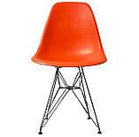 Стул Тауэр оранжевый пластик ножки хром СДМ группа (бесплатная доставка), фото 9