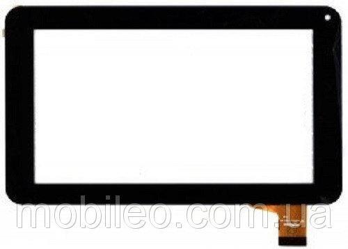 Сенсорный экран (тачскрин) для планшета Bravis (186*111) NP71 Kingvina 138 (шлейф 35мм) black