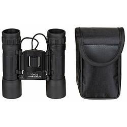 Бінокль 10x25 Ruby lens, чорний, з чохлом MFH