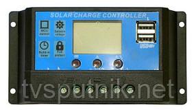 Контроллер заряда CM20K-20A 12/24В 20А USB