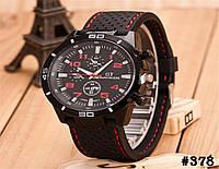 Мужские кварцевые наручные часы / годинник GT Grand Touring Red  (378)