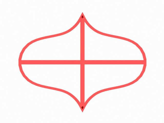 Вирубка для пряників - Рамка #14