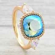 Кольца с кристаллами Swarovski/ ХР