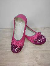 Туфли балетки на девочку розовые 35 р арт 76756 W.Niko.