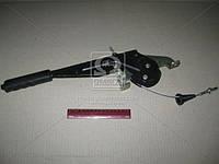 Рычаг тормоза стояночного ГАЗ 31105 с тросом ( ГАЗ), 31105-3508010