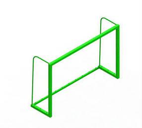 Ворота для мини футбола Зеленый (Dali ТМ)
