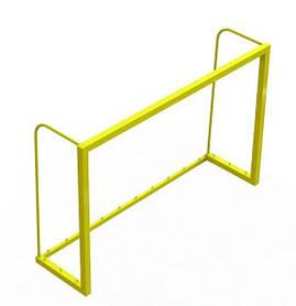 Ворота для мини футбола Зеленый (Dali ТМ) Желтый