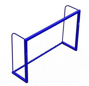 Ворота для мини футбола Зеленый (Dali ТМ) Синий