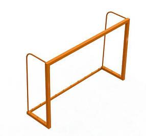 Ворота для мини футбола Зеленый (Dali ТМ) Оранжевый