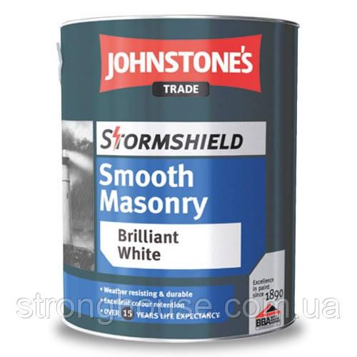 Johnstone's Stormshield Smoosh Masonry Finish 10л Фасадная краска Джонстоун Стормшилд