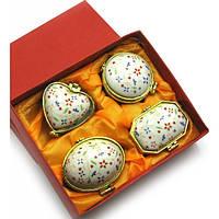 Шкатулки из керамики и камня