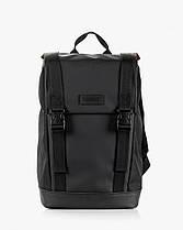 """Прочный мужской рюкзак """"AVIAPACK """" на 17л, спортивний городской для путешествий, сумка для ноутбука, Чёрный, фото 2"""