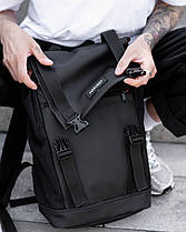 """Прочный мужской рюкзак """"AVIAPACK """" на 17л, спортивний городской для путешествий, сумка для ноутбука, Чёрный, фото 3"""