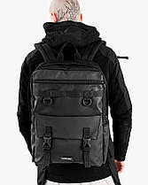 """Прочный мужской рюкзак """"CROSS-TOWN"""" на 19л, спортивний городской для путешествий, сумка для ноутбука, Черный, фото 3"""