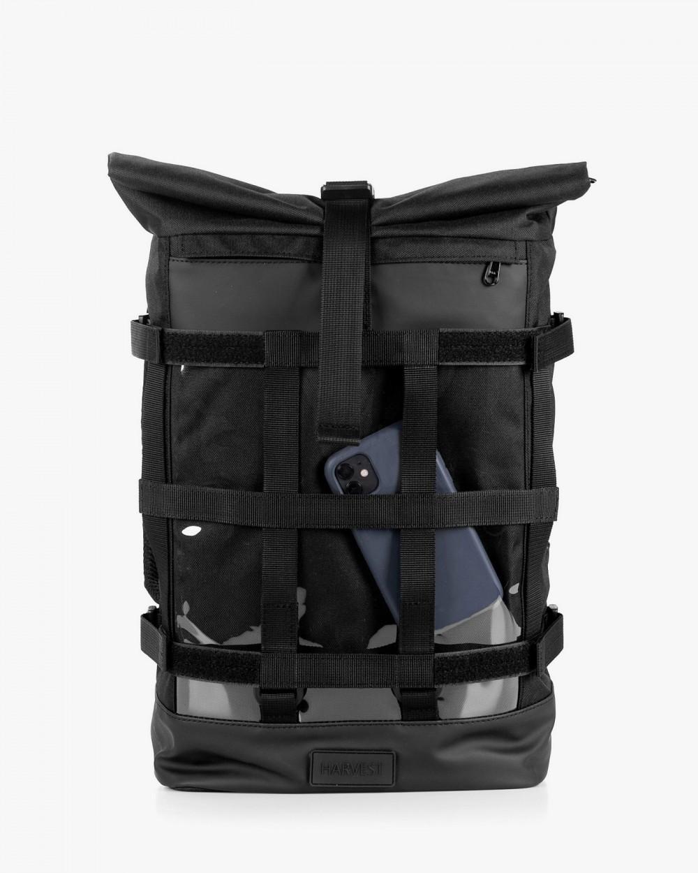 """Рюкзак """"MESH 1"""" глянец, чёрный,на 17л, сумка для ноутбука,унисекс, водоотталкивающий, повседневный, спортивный"""