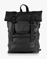 """Прочный мужской рюкзак """"ROLL"""" черный, на 19л, сумка для ноутбука, спортивный, для путешествий, повседневный"""