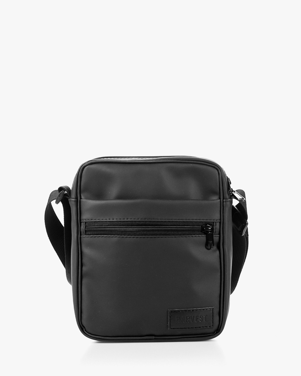 """Мужская сумка мессенджер """"MINI"""" матовый,черный, на 2л,износостойкий,повседневный, спортивный, экокожа, Harvest"""