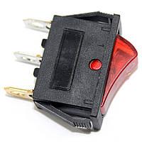 Сетевая кнопка масленного обогревателя универсальная одинарная 3 контакта