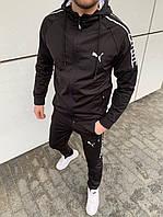 Мужской спортивный костюм Пума с капюшоном. Весна 2020