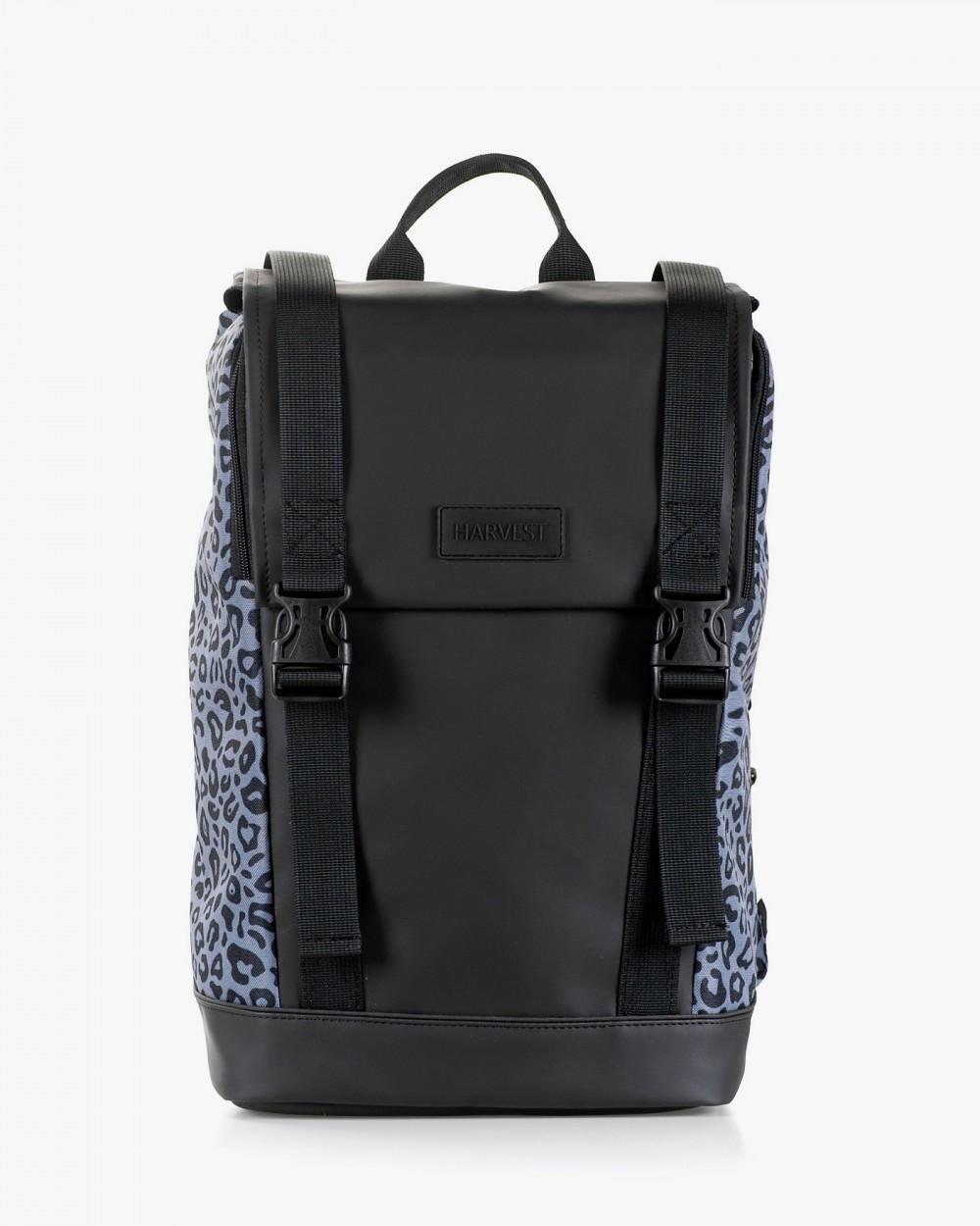 """Женский рюкзак """"AVIAPACK"""" принт леопард, серый, черный, на 17л, сумка для ноутбука, повседневный, спортивный"""