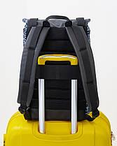 """Женский рюкзак """"AVIAPACK"""" принт леопард, серый, черный, на 17л, сумка для ноутбука, повседневный, спортивный, фото 3"""