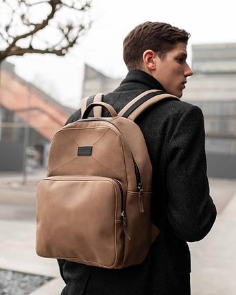 """Прочный мужской рюкзак """"MONO"""" на 19л, спортивний городской для путешествий, сумка для ноутбука, Винтаж, фото 2"""