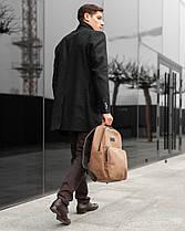 """Прочный мужской рюкзак """"MONO"""" на 19л, спортивний городской для путешествий, сумка для ноутбука, Винтаж, фото 3"""