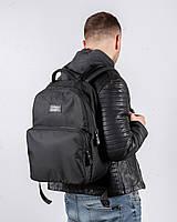 """Прочный мужской рюкзак """"MONO"""" на 19л, спортивний городской для путешествий, сумка для ноутбука, Черный"""