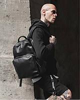 """Прочный мужской рюкзак """"MONO"""" на 19л, спортивний городской для путешествий, сумка для ноутбука, Чёрный"""