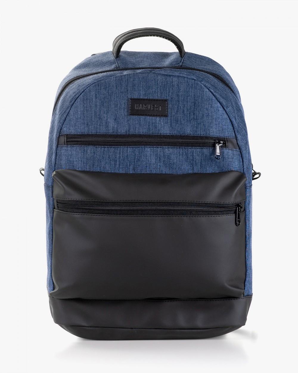 """Мужской рюкзак """"ORDINARY """" синий, черный, на 21л, сумка для ноутбука, спортивный, повседневный,для путешествий"""