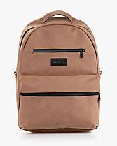 """Прочный мужской рюкзак """"TIPOLEATHER"""" на 17л, спортивний городской для путешествий, сумка для ноутбука, Винтаж, фото 2"""