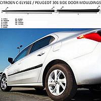 Молдинги на двері для Citroen C-Elysee 2012-2020, фото 1